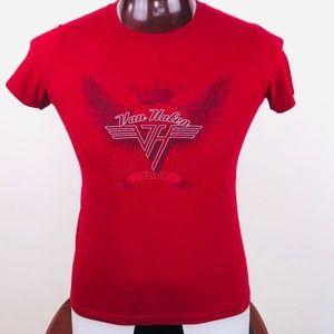 Van Halen Logo 2007 Mens L Graphic T Shirt
